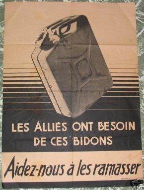 Jerrycan Anglais De 1944