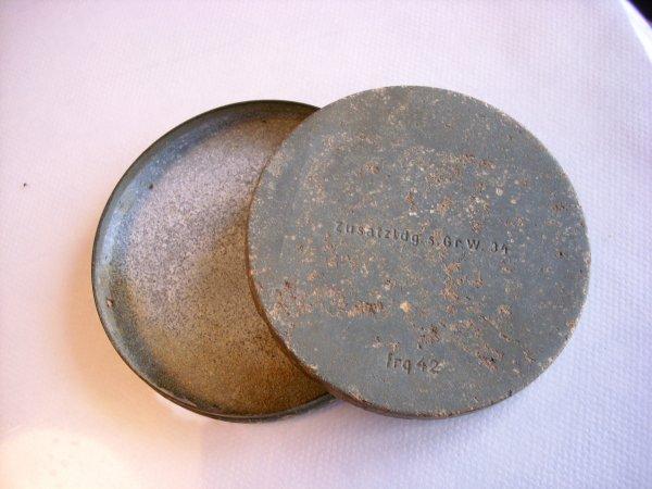 boite d'appoints de charge pour obus de mortier de 8cm allemand 1942