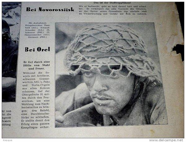 nouveau casque allemand avec filet dans son jus