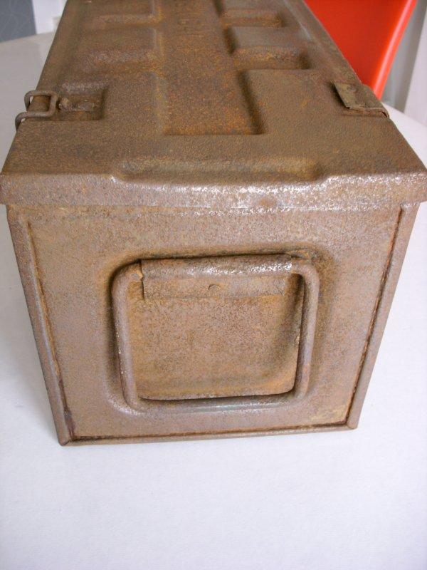 caisse anglaise de 1941 pour Obusier de 7,2 pouces