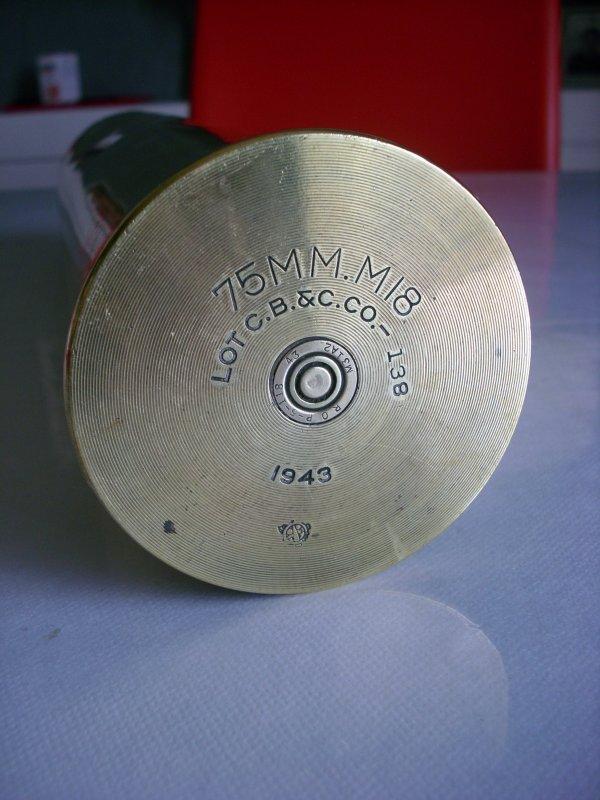 deuxième 75mm m18 américain 1943