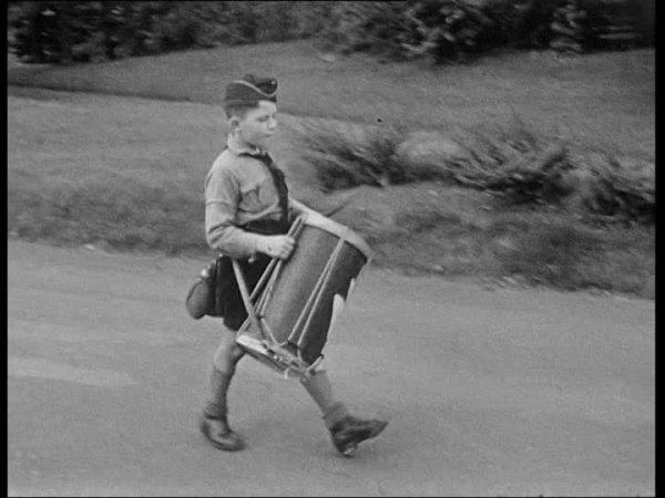 gourde de la jeunesses hitlériennes 1938
