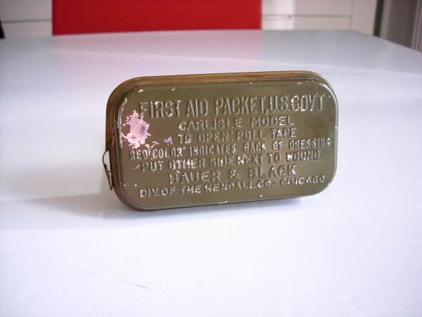 First aid,packet,US
