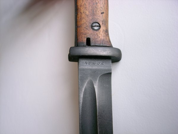 Baionnette allemande Mauser k98k CVL 43