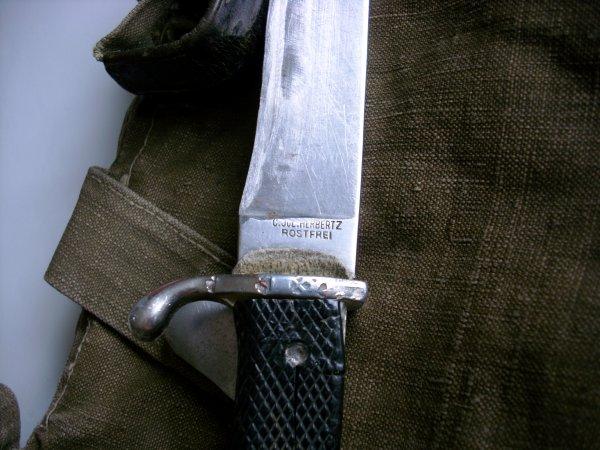 couteau de la hitlerjugend dans son jus !!!