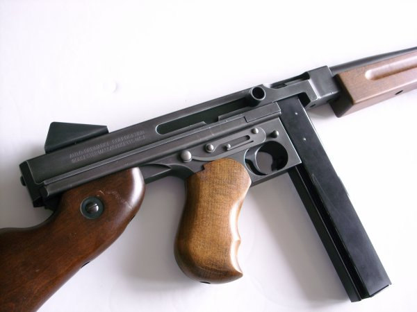 Thompson M1A1 airsoft fullllll metal et bois