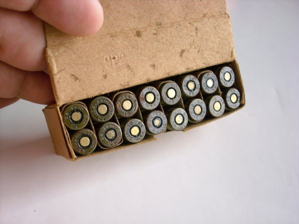16 pistolenpotronen 1944 netra