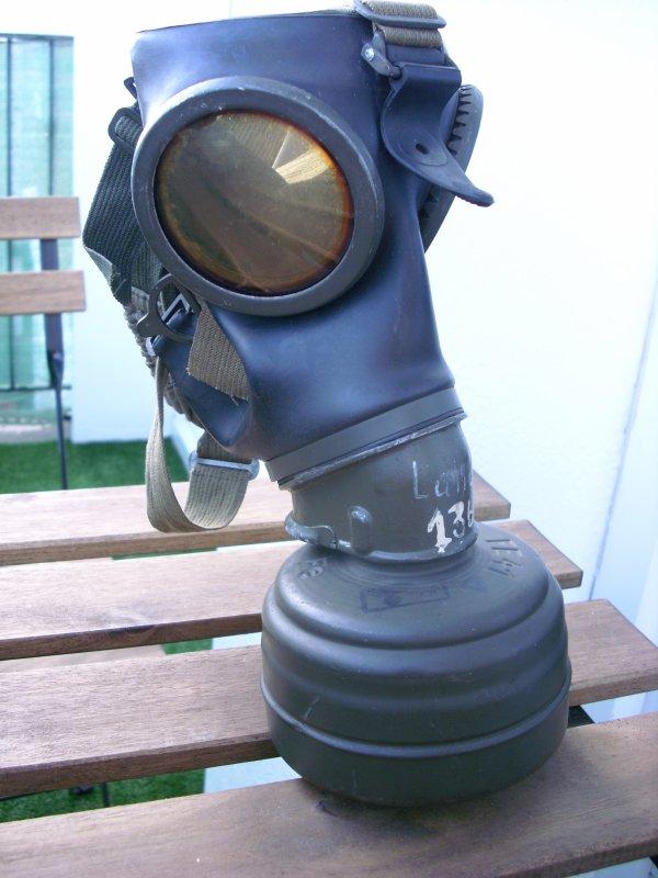 masque a gaz allemand modèle 38