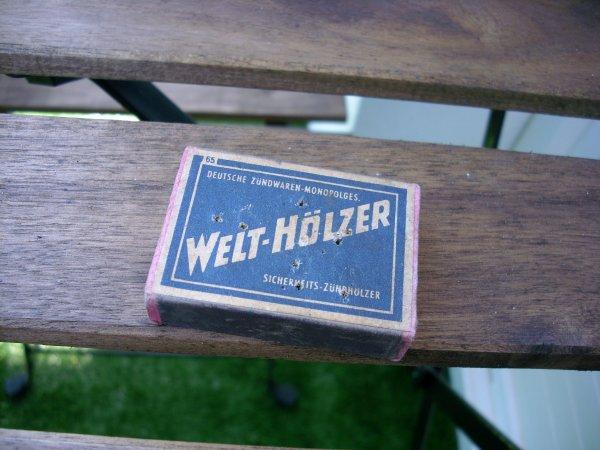 boite d'allumette allemand ww2