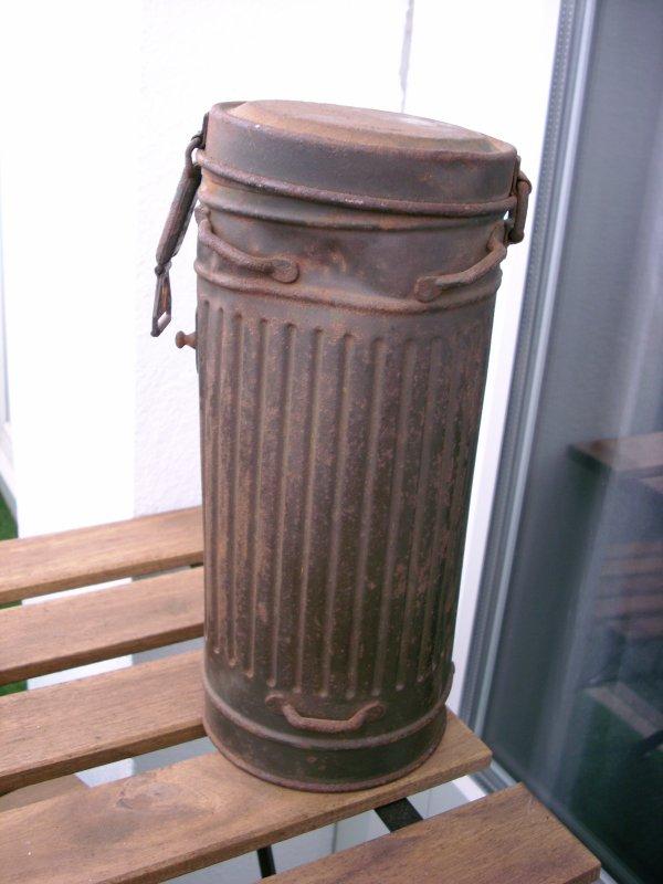 boite masque a gaz allemand 1940