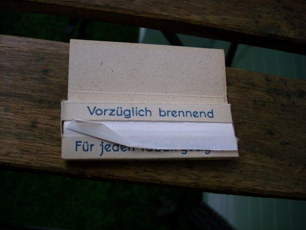Papier à cigarettes Allemand efka