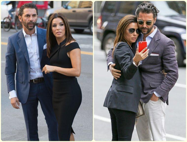 Eva Longoria & Jose Baston & leur fils Santiago