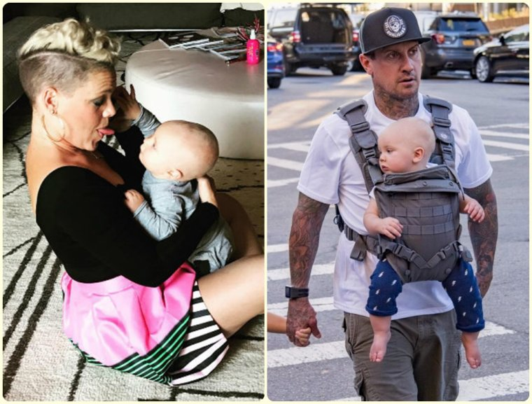 Pink & son mari Carey Hart & leur enfants Willow & Jameson Hart