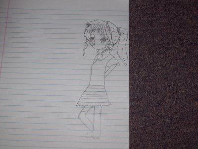 Mon dessin manga ;)