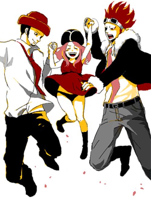 Academia One Piece : Chapitre 03