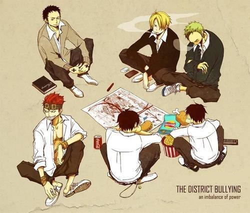 Academia One Piece : Chapitre 13