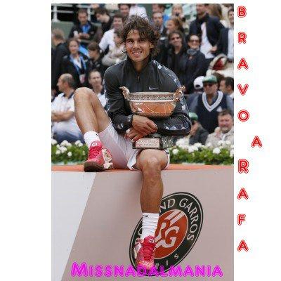 ROLAND GARROS  2012**  ^  RAFA  EN  EN FINAL   VS Djokovic ^^   RAFA AU 7° CIEL !!
