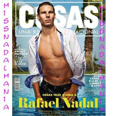# RAFA      NEWS >>> RAFA FAIT FORFAIT   Master 500  BALE  2013     // RAFA en cover  du mag