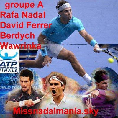 #  MASTER  LONDON  2013    ♥ RAFA  Nadal ♥    / Rafa en Final !!!!!!! helas il a perdu