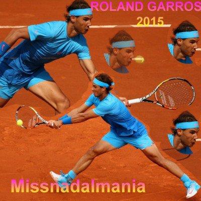 # RAFA          #  ROLAND GARROS  2015 #    ♥        #  FINAL ..  DJOKOVIC  VS  Wawrinka