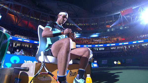 #  RAFA    #  Tournee Asiatique  /// CHINA OPEN   ///  SHANGHAI   (1000)  RAFA  a perdu en  1/2 FINAL