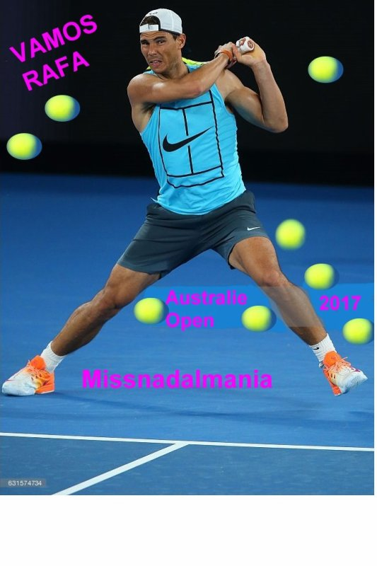 # RAFA  #  AUSTRALIE   OPEN   Grand Chelem )     //Rafa  battu  en  Final