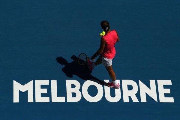 # Rafa  OPEN D AUSTRALIE   MELBOURNE ^^Rafa en  1/4 de final  vs Thiem helas Rafa a perdu