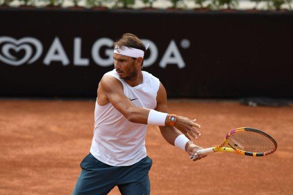 # RAFA    is back !!!!   Tournoi  ROME 2020 ^^