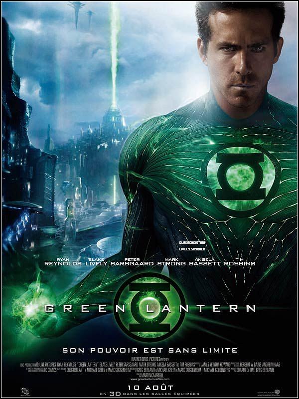 10/08/11 - Green Lantern, avec Blake Lively, dans les salles françaises ! Vas-tu le voir ? ► BANDE-ANNONCE  Blake interprête le rôle de Carol Ferris , l'amour d'enfance du héros Hal (Ryan Reynolds).