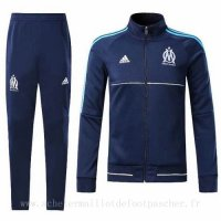 Veste foot ensemble Adidas bleu marine Marseille 2018