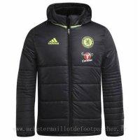 Veste en coton foot Adidas noir Chelsea 2018