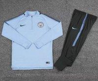 Survetement foot de ensemble bleu Manchester City 2018