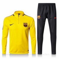 Survetement foot de Nike jaune Barcelone 2018