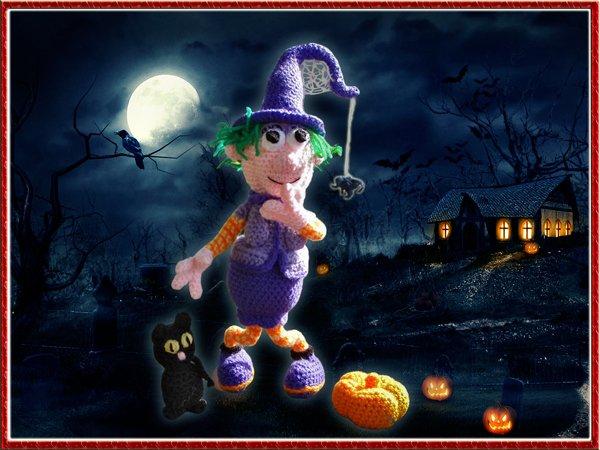 la sorcière pour halloween