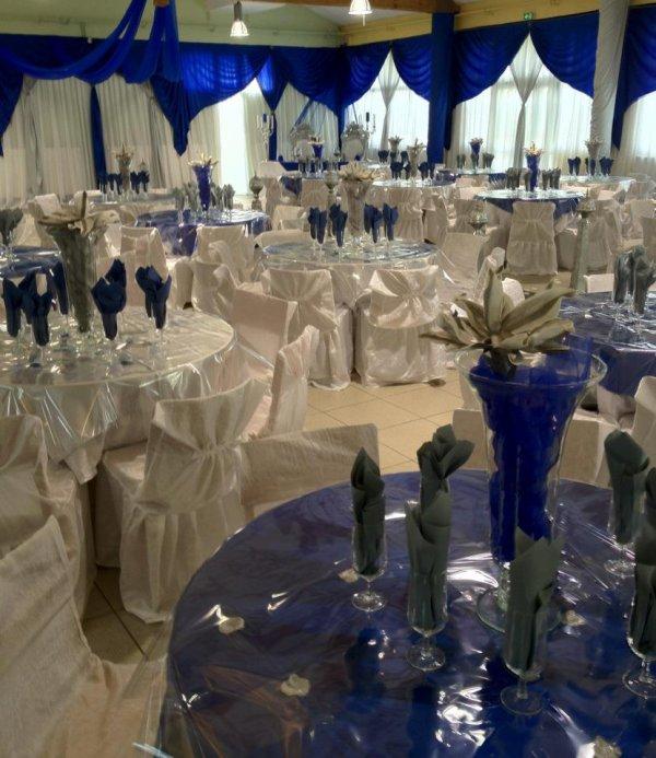 Deco Bleu Royal Decoration De Salle