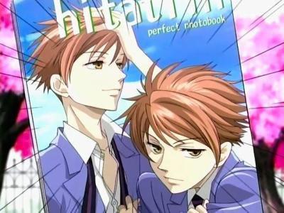 Hikaru et Kaoru Hitachiin