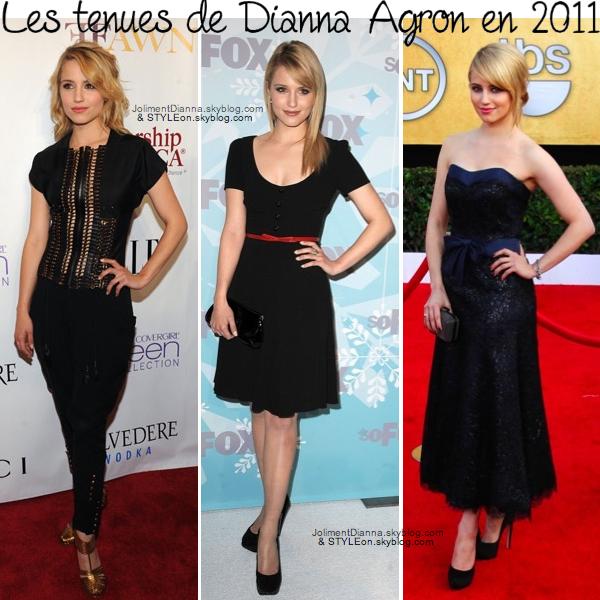 *MODE l Les tenues de Dianna Agron en 2011 / Article en collaboration avec JolimentDianna *