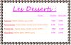 les pizzas desserts