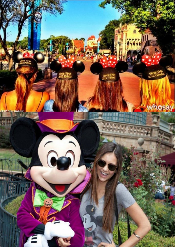 Nos stars à Disneyland !