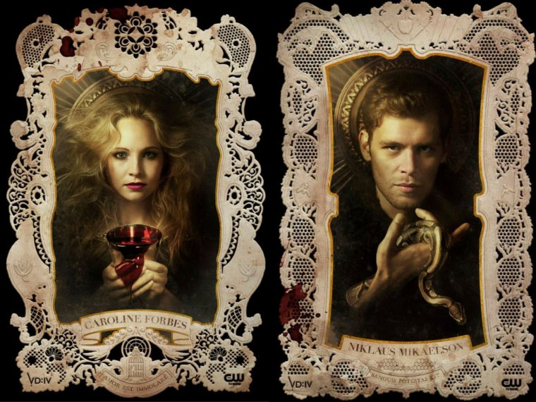 Holy Cards Vampire Diaries !