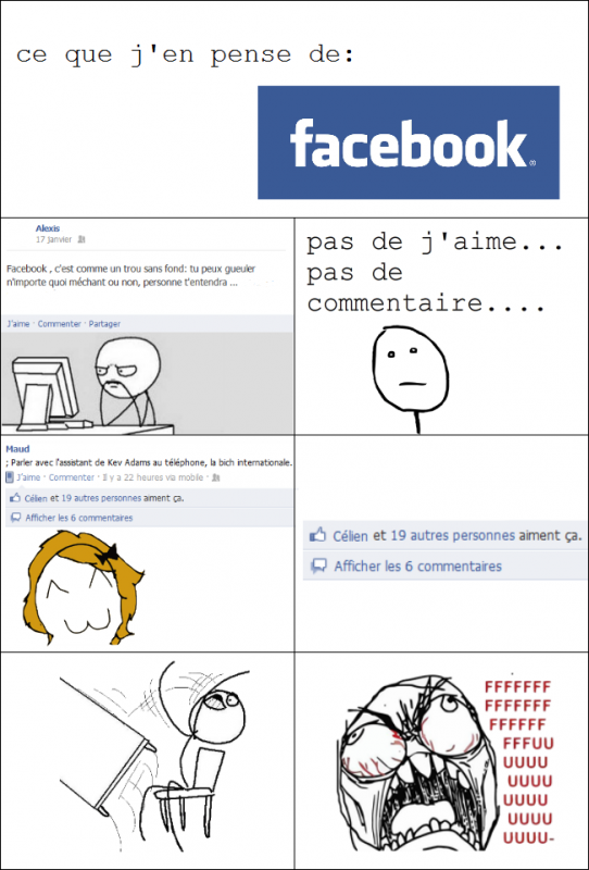 Ce que j'en pense de Facebook