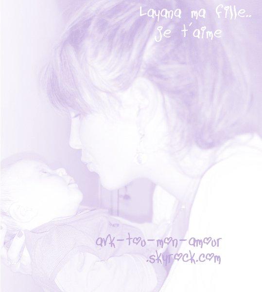 L'amour maternelle, l'amour eternelle...