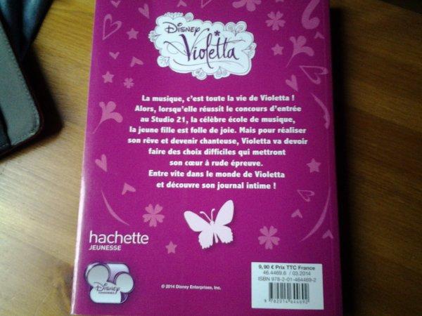 le journal intime de violetta le roman 1