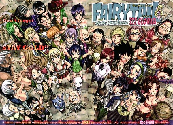 FAIRY TAIL, Dossier manga Shonen