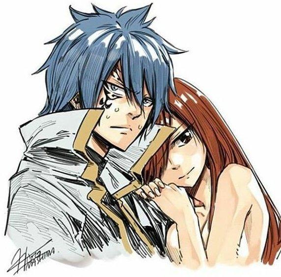 Les Couples dans Fairy Tail