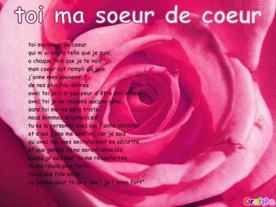 poeme pour anniversaire de ma petite soeur