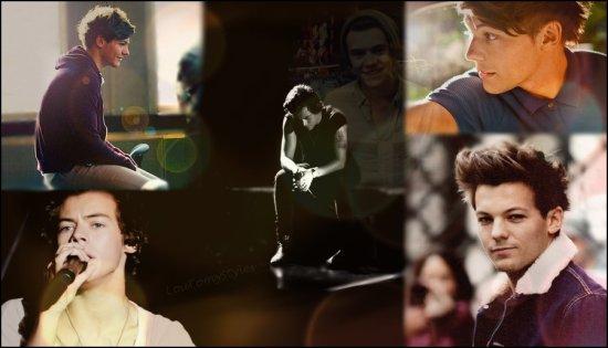"""Louis """"Bref, c'est juste lui"""".   Harry """"Je crois qu'il est différent des autres."""""""
