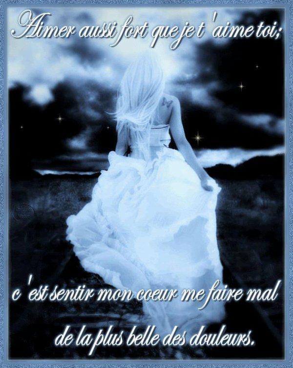 A mon tendre amour....
