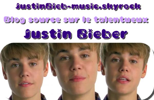 Blog sur Justin Bieber