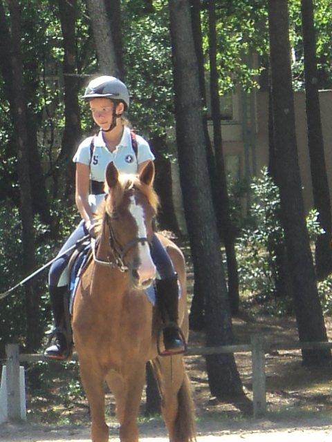 Cours d'équitation à Lacanau - Semaine 1
